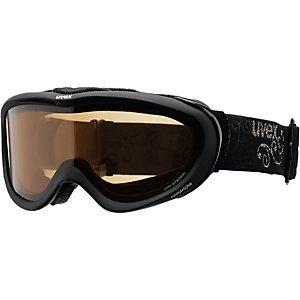 Uvex comanche P M40 Skibrille black mat/polarized