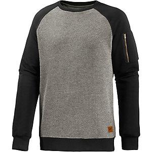 Colour Wear Bomb Sweatshirt Herren graumelange/schwarz