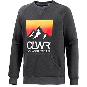 Colour Wear Sweatshirt Herren anthrazit