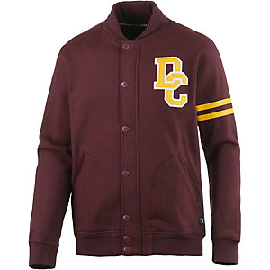 DC Riverwood Collegejacke Herren bordeaux