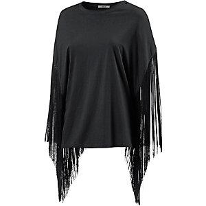 REPLAY T-Shirt Damen schwarz
