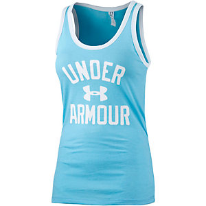 Under Armour Funktionstank Damen hellblau
