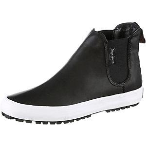 Pepe Jeans Ripley Chelsea Boots Damen schwarz