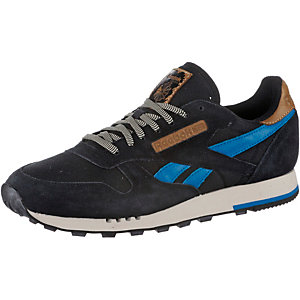 Reebok CL LEATHER UTILITY Sneaker Herren schwarz/royal