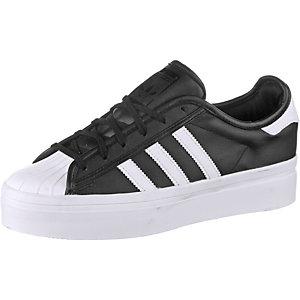 adidas Superstar Rize W Sneaker Damen schwarz/weiß