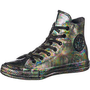 CONVERSE Chuck Taylor All Star Rubber Oil Slick Sneaker Damen schwarz/bunt