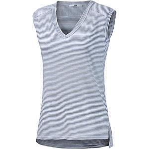 LTB V-Shirt Damen weiß/blau