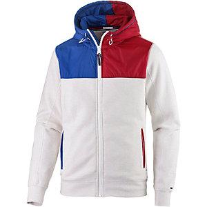 Tommy Hilfiger Sweatjacke Herren weiß/blau/rot