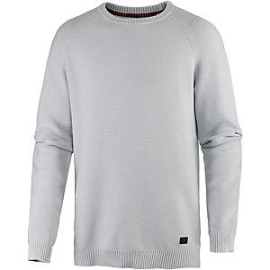 Strellson Sportswear Strickpullover Herren hellgrau