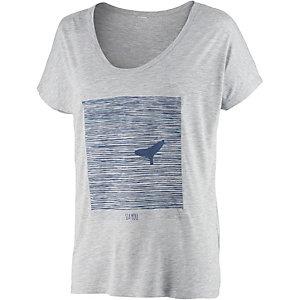 WLD Diver Printshirt Damen graumelange