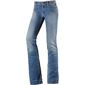 REPLAY Teena Bootcut Jeans Damen dark blue denim