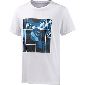 WLD Mix it Blue Printshirt Herren weiß