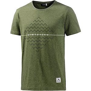 Zimtstern Nabilz Printshirt Herren oliv