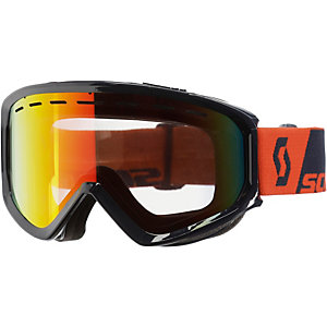 SCOTT Level Skibrille orange/blau