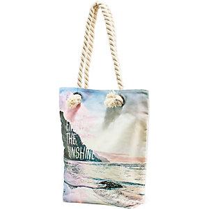 TIMEZONE Handtasche Damen bunt/weiß