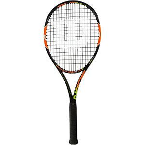 Wilson BURN 100 S Tennisschläger schwarz/orange