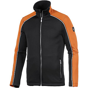 Toni Sailer Zac Funktionsjacke Herren schwarz/orange