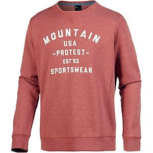 Protest Freddie Sweatshirt Herren rostrot