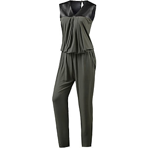 REPLAY Jumpsuit Damen oliv/schwarz