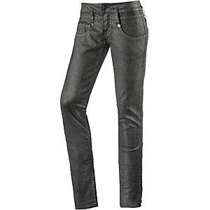 Herrlicher Pitch Skinny Fit Jeans Damen anthrazit/silber