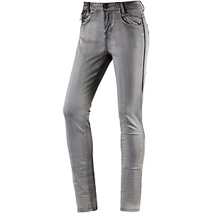 GARCIA Skinny Fit Jeans Damen grey denim
