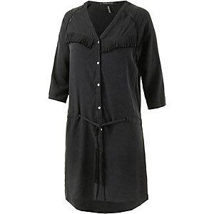 Maison Scotch Kurzarmkleid Damen schwarz