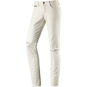 Tommy Hilfiger Nora Skinny Fit Jeans Damen white denim