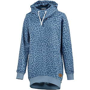 Colour Wear Hype Hoodie Damen blau leo