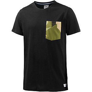 Colour Wear Pocket T-Shirt Herren schwarz