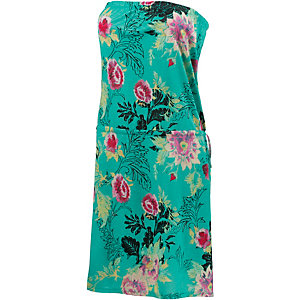 Billabong New Amed Bandeaukleid Damen mint/allover