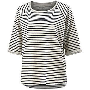ARMEDANGELS Sweatshirt Damen weiß/blau