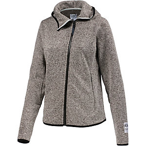 Colour Wear Snug Strickfleece Damen graumelange