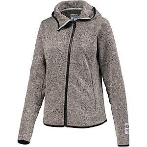 Colour Wear Snug Strickfleece Damen graumelange