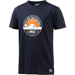 Picture Campstore Printshirt Herren navy