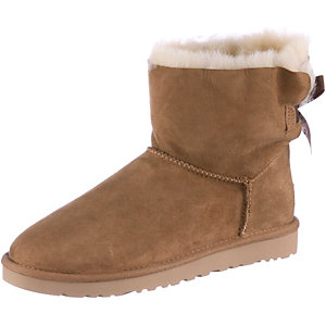 Ugg Australia Mini Bailey Bow Winterschuhe Damen hellbraun
