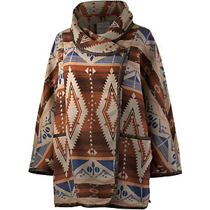 TOM TAILOR Poncho Damen bunt
