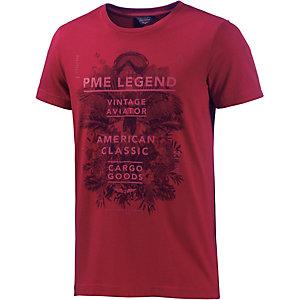 PME LEGEND Printshirt Herren rot
