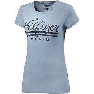 Tommy Hilfiger Printshirt Damen hellblau