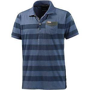 Twinlife Poloshirt Herren blau