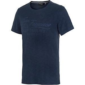 CAMP DAVID T-Shirt Herren dunkelblau