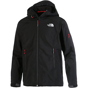 The North Face Valkyrie Softshelljacke Herren schwarz/rot