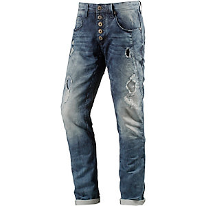 M.O.D Wesley Anti Fit Jeans Herren destroyed denim