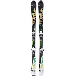 Fischer Set Motive76 14/15 + RS11 All-Mountain Ski schwarz