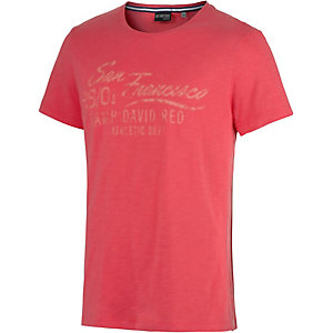 CAMP DAVID T-Shirt Herren rot