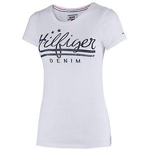 Tommy Hilfiger T-Shirt Damen weiß/blau