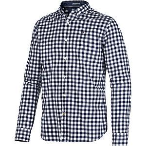 Tommy Hilfiger Langarmhemd Herren blau/weiß