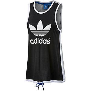 adidas Tanktop Damen schwarz/weiß