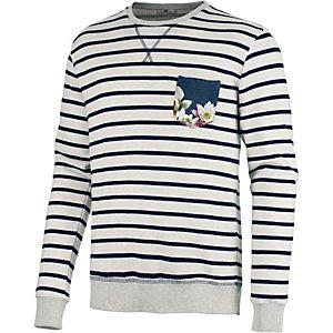 LTB Sweatshirt Herren weiß/navy