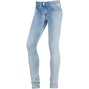 REPLAY Luz Skinny Fit Jeans Damen light blue denim
