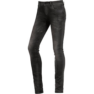G-Star 3301 Low Super Skinny Skinny Fit Jeans Damen black denim